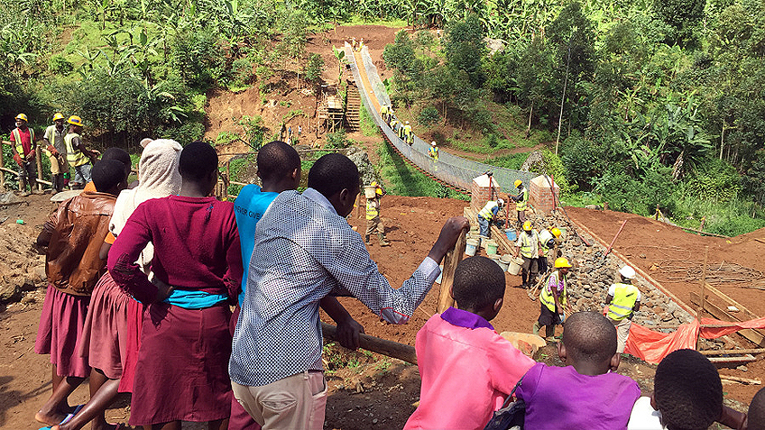 Ramboll bygger bro i Rwanda - dagensinfrastruktur