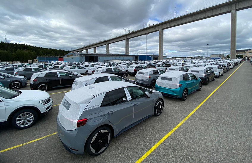 Volkswagens Nya Elbil Id 3 Ar Har Dagensinfrastruktur